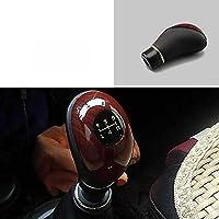 SAXTZDS 車のマニュアルレバーギアシフトノブギアヘッドハンドボール、レクサスホンダシビックオペルアストラhjマツダ36キアリオシードボルボに適合