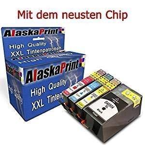 WOW 4X Druckerpatronen komp. mit HP 934 XL 934XL 935 XL 935XL Multipack mit Officejet Pro 6830 6820 6230 6812 6815 6835 Patronen Tintenpatronen