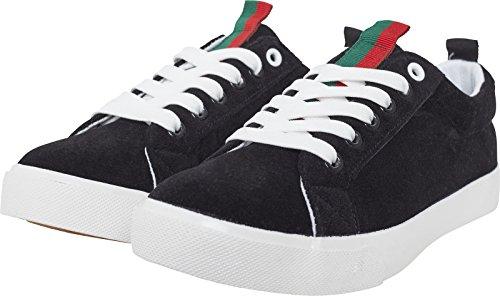 Urban Classics Velour Sneaker, Zapatillas Unisex Adulto, Rayas...