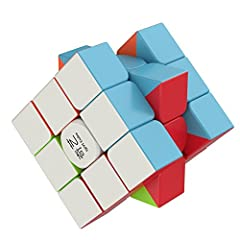 Building toy - increase your kid's intelligence and problem solving genius one turn at a time with our Puzgic magic cube Great corner cutting - get going at the speed of thought with a magic cube that is tension able and has no stalling corners Super...