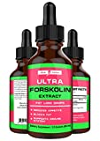 Forskolin for Weight Loss Maximum Strength - 100% Pure Forskolin Extract in Concentrated Liquid. All Natural Appetite Suppressant and Fat Burner. One of The Top Weight Loss Supplements - Made in USA