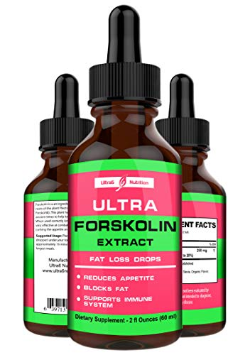 Forskolin for Weight Loss - 100% Pure Forskolin Extract in Concentrated Liquid. An All-Natural Forskolin Max Strength Supplement. A Leading Solution for Natural Weight management. USA made.