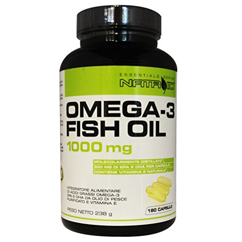 Natroid Omega-3 Fish Oil 1000mg