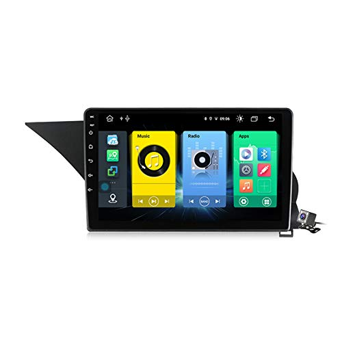 Android 10 Car Radio de Navegación GPS para Mercedes Benz GLK-Class X204 2012-2015 con 9 Pulgada Táctil Support 5G FM AM RDS/DSP MP5 Player/Steering Wheel Control/Carplay Android Auto,7862: 6+128gb