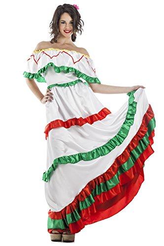 Disfraz de Mexicana Talla XL