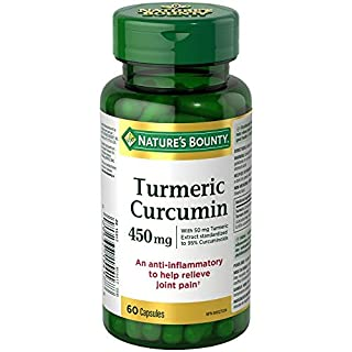 Nature's Bounty Turmeric Curcumin Pills and Herbal Health Supplement, Anti-inflammatory to Help Relieve Joint Pain, Source of antioxidants, 450mg, 60 Capsules (B00BMEI8IY) | Amazon price tracker / tracking, Amazon price history charts, Amazon price watches, Amazon price drop alerts