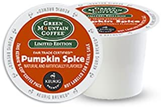 Green Mountain Coffee Pumpkin Spice, Keurig K-Cups, 36 Count