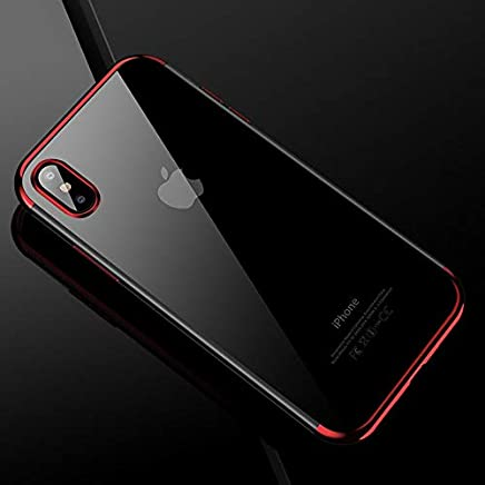 39bec09015 1 piece JAMULAR luxury Soft TPU Case For iPhone X 10 8 7 Plus Clear  transparent
