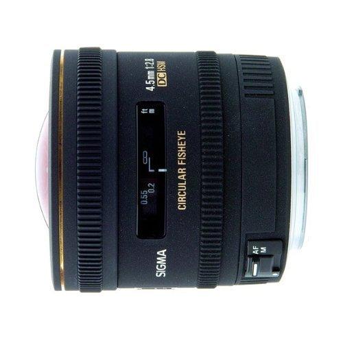 Sigma 4,5/2,8Ex DC Zirkular Fisheye für Canon