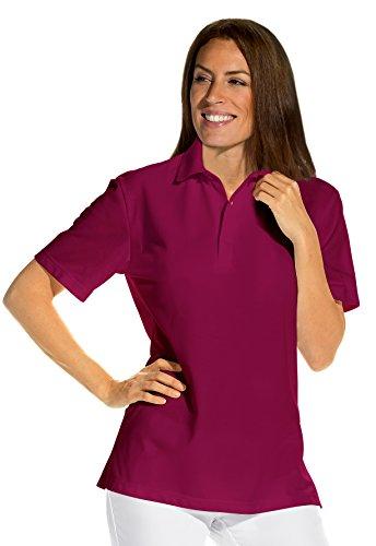clinicfashion 12814088 Polo-Shirt Unisex für Damen und Herren, Beere, Mischgewebe, Größe S