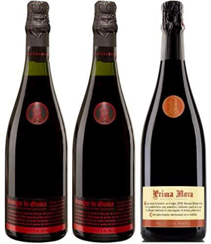 Bautista Martí - Lote de 3 botellas de vino espumoso (3 x 0.75l)