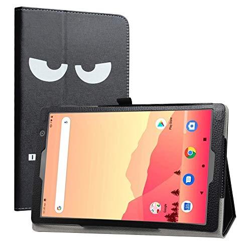 LiuShan Compatible con Vankyo S20 / Yuntab D107 Funda, Folio Soporte PU Cuero con Funda Caso para 10.1' Vankyo MatrixPad S20 / Yuntab D107 10 Inch Tablet(Not fit Vankyo S30),Don't Touch
