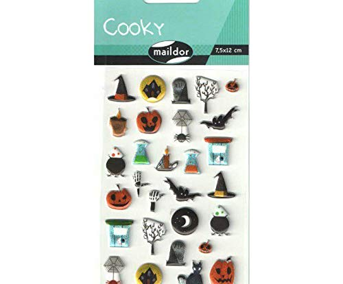 Stickers Cooky - Halloween, Room Art, Home Decor, Dekoration Herbst, Dekoration Türen, Dekor-Boo, Kunst, Halloween, Maildor, Kunststoff, Scrapbooking Papier