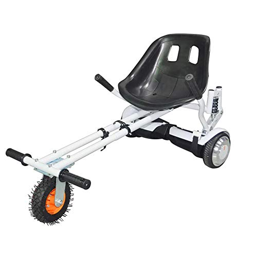 Check Out This Doifck Hoverkart Go Kart Adjustable for Hovercart Conversion Kit - Fits All Hoverboar...