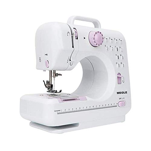 Sewing Machine with foot pedal,12 Stitches (Megle-505A)