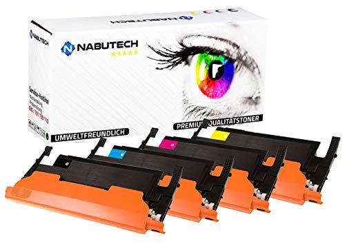 XXL Nabutech Toner voor Samsung CLP-360 CLP-360N CLP-360ND CLP-365 CLP-365W CLX-3300 CLX-3305 CLX-3305FN CLX-3305FW CLX-3305W Xpress C410w C460FW C460W CLT-K406 CLT-Y406 CLT-M406 CLT-M406 CLT-C406 CLT-C406 set