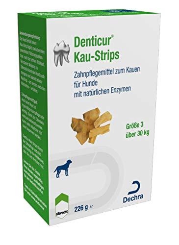 Albrecht Denticur Kaustriplets als Zahnhygiene für kleine Hunde, Option:1 Packung
