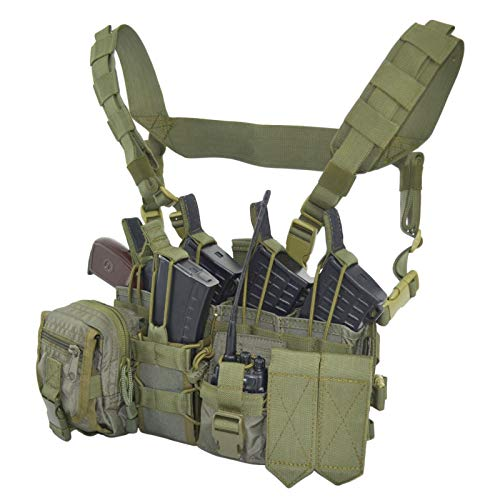 SPOSN/SSO Tactical Molle Chest Rig Wagner D3 | Russian Assault Vest (Olive)