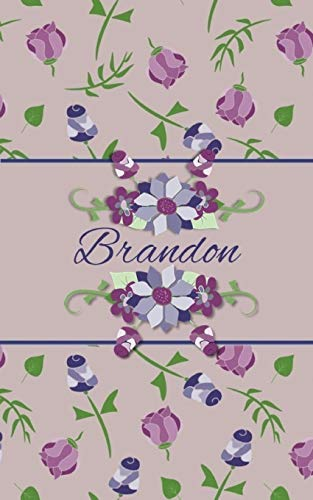 Brandon: Small Personalized Journal for Women and Girls