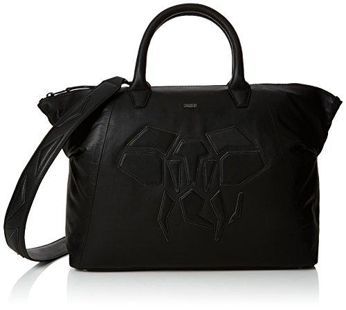 BREE Damen Icon Bag Tote Schwarz (Black)
