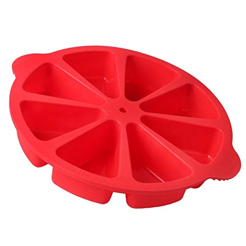 Baking Equipment 8 Triangle Cavity Silicone Cake Mold Baking Pan Cake Mold Silicone Pastry Pan Pizza Slices