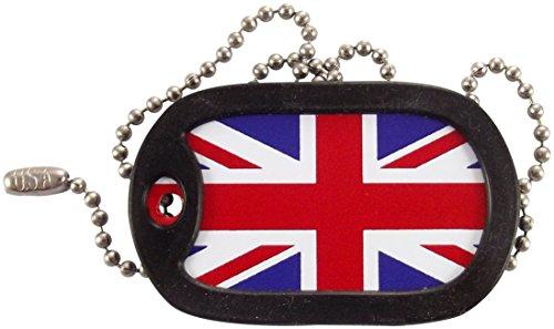 Tag-Z Military Dog Tags - British Flag - Union Jack Dog Tag Necklace