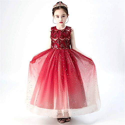 NINAINAI Dress, Wedding, Kids, Girl Dress, Flowers, Christm Falda de Princesa Infantiles Mullido de Hilado Mullido Moda Modelo de Moda Vestido de Noche for Formal Event or Special Occasions