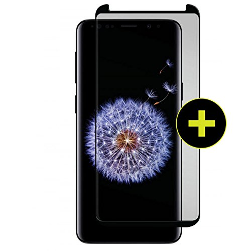 Gadget Guard Black Ice Plus Cornice 2.0 Full Adhesive Curved for Samsung Galaxy S9+ Plus - GGBIP2C208SS05A