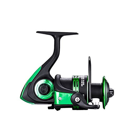 HZPXSB Nuevo Carrete de Metal Spinning Reel Spinning Carrete de Pesca Línea de Repuesto Gratis Taza de Repuesto Paso de Repuesto Izquierdo/Derecha Rueda de Pesca (Spool Capacity : 6000 Series)