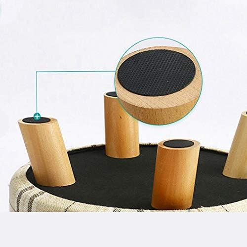 DZ- Banc de Chaussures de Mode créative - Banc d'essai - Petit Banc en Bois Massif - Banquette de canapé - Une variété de Couleurs et de Styles (Color : F) L