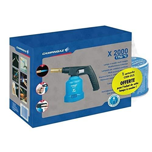 Campingaz Lampe à souder X 2000 + 1 Cartouche C206GLS offerte