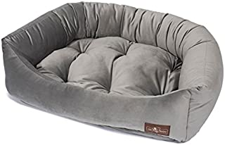 Jax and Bones 2421-SEAL-NP Luxury Dog Bed
