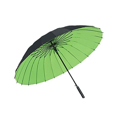 WYH Paraguas automático para exteriores, paraguas de lluvia de secado rápido, paraguas de viaje a prueba de viento, sombrilla extra fuerte (color: B)
