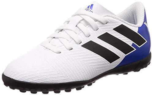 adidas Nemeziz Messi Tango 18.4 TF J, Botas de fútbol Unisex Adulto, Multicolor (Ftwbla/Negbás/Fooblu 000), 37 1/3 EU