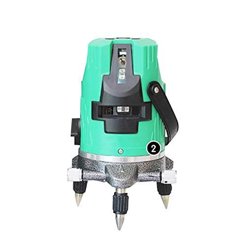 Automatische draadnivellering 2/3/5 Lijnniveau Horizontaal/verticaal Groenlichtmeter Lijnmeter Buiten Batterij met grote capaciteit Binnen en Buiten Universeel