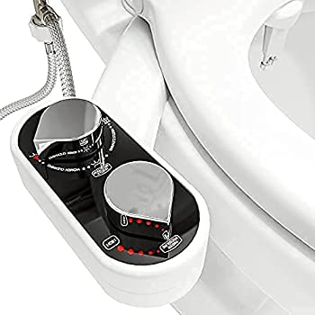 Clear Rear - The Buttler Bidet Toilet Attachment  1-Pack  Easy Setup Non-Electric Mechanical Bidet Sprayer Self-Cleaning Nozzle & Adjustable Pressure