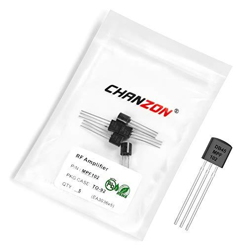 Chanzon 5pcs MPF102 TO-92 RF Amplifier 10mA Transistor