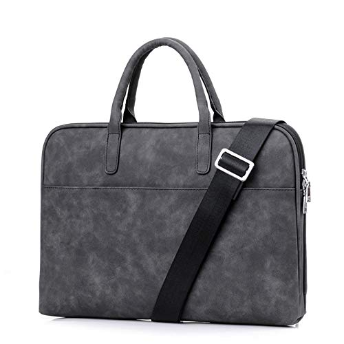 WYHP 15,6-inch Laptop tas Speciale aanbieding Iron Man Laptop Briefcase Shoulder Messenger Bag Protective Sleeve (Color : Black, Size : 14inch)