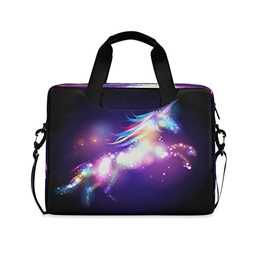 LUCKYEAH Universo Raibow Galaxy - Bolsa de ordenador portátil de 16 pulgadas para ordenador portátil
