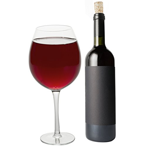 Oversized XL Giant Wine Glass - 750 ml - Holds a full bottle of wine! Fun Mother s Day Gift