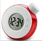 URTop Environmental Creative Smart Water Element Magic Water Power Clock LED Digital Clock Home Decoration Gift(at Random Color)