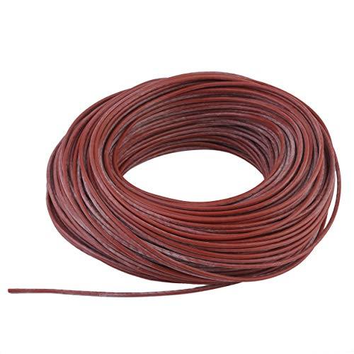 MXECO Cable Calefactor Radiante infrarrojo portátil Silicona Cable de Fibra de Carbono Calentador eléctrico Línea Directa para calefacción de Piso