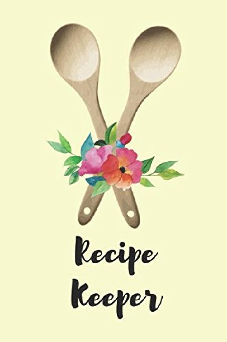 ラベンダー仕立て屋知的Recipe Keeper: Blank Recipe Book