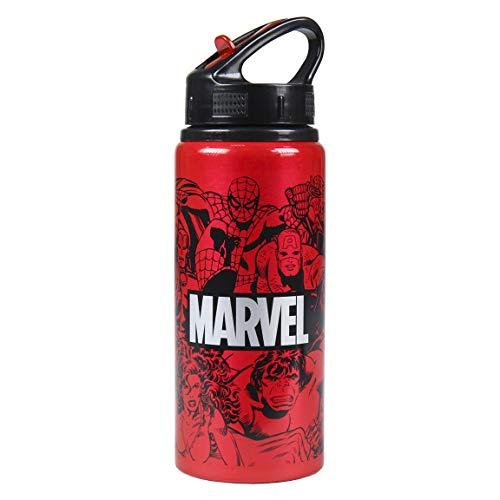 CERDÁ LIFE'S LITTLE MOMENTS, Botella de Aluminio para Agua con Capacidad de 700 mL-Licencia Oficial de Marvel Studios Unisex niños, Multicolor, Infantil