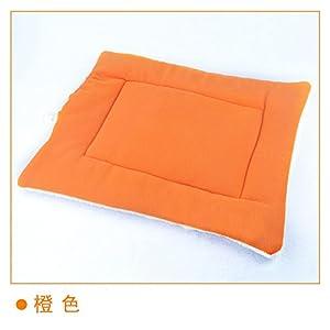 Tapis rectangulaire doux et confortable pour chien ou chat Niche ou chenil 3tailles