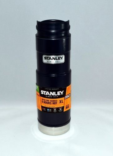 Travel Mugs Black Stanley Classic One Hand Mug XL (20 Ounce) ~ Stainless ~ Navy Or Green