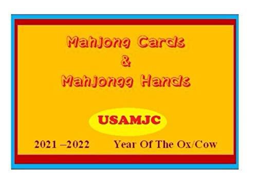 USAMJC 2021 Mahjong Cards & Mahjongg Hands -- year of the ox/cow ::...