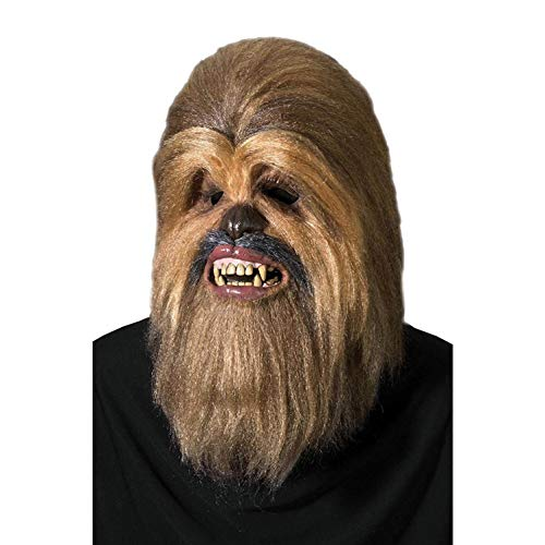 Rubie's Star Wars Deluxe Chewbacca Full Latex and Fur Mask Accessory | 4195