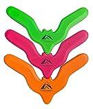 Batrang 3 Boomerang Pack - Safe Foam Boomerangs for Children