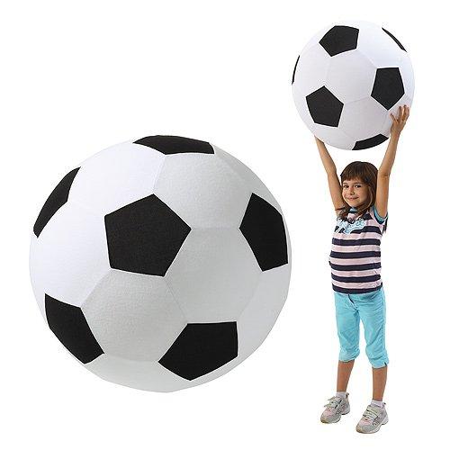 elasto form KG XXL Fußball Groß Giant Spielzeug Dekoartikel Ø 50 cm Riesenfußball Spielball Fanartikel